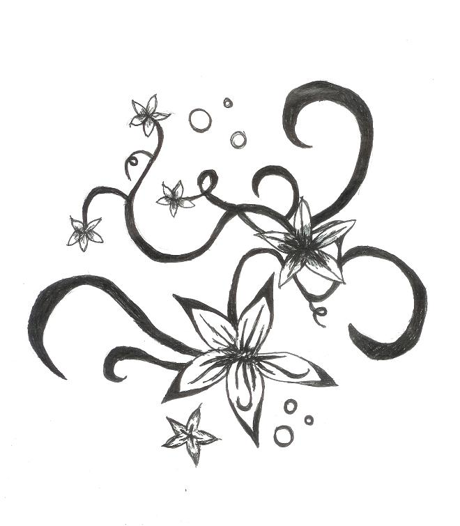 Tattoo Designs Vines And Flowers: Flower Tattoos : Page 69