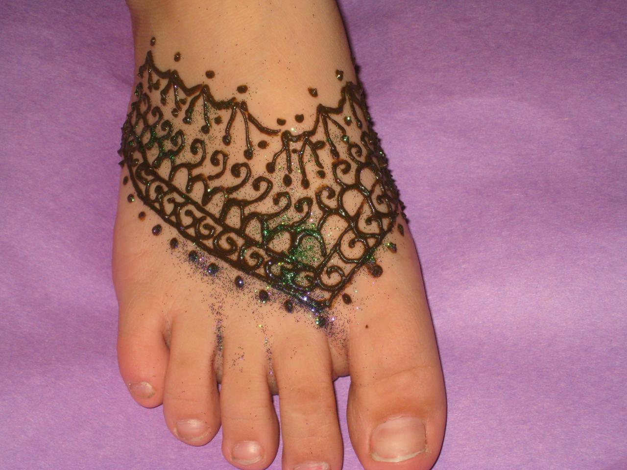 Elephant footprints tattoo - photo#3