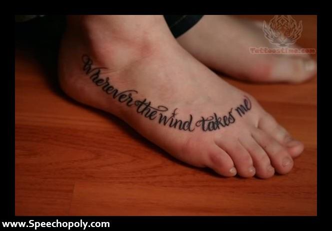 foot quote tattoos tumblr wwwpixsharkcom images