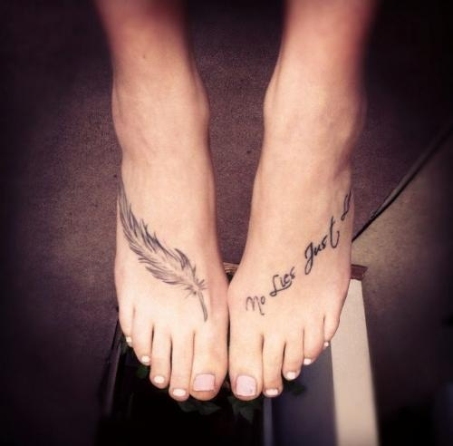Foot Tattoo Images & Designs