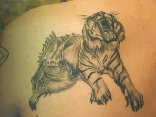 3D Tiger Tattoos