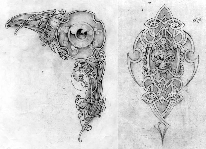 Fantasy Tattoo Images & Designs