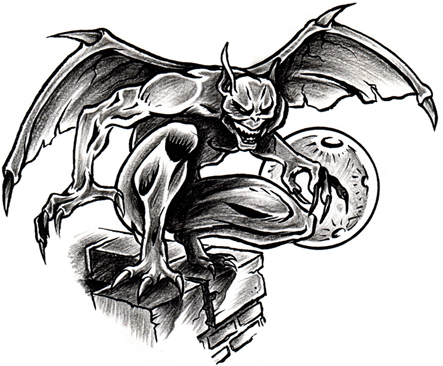 gargoyle tattoo designGargoyles Tattoos Meaning