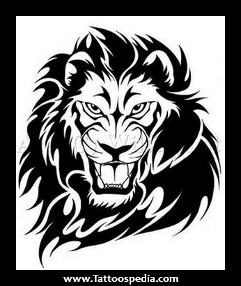 Lion Tattoo Images Designs