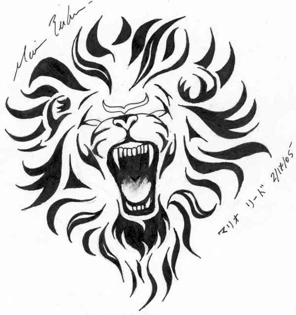 Leo Lion Tattoo Designs
