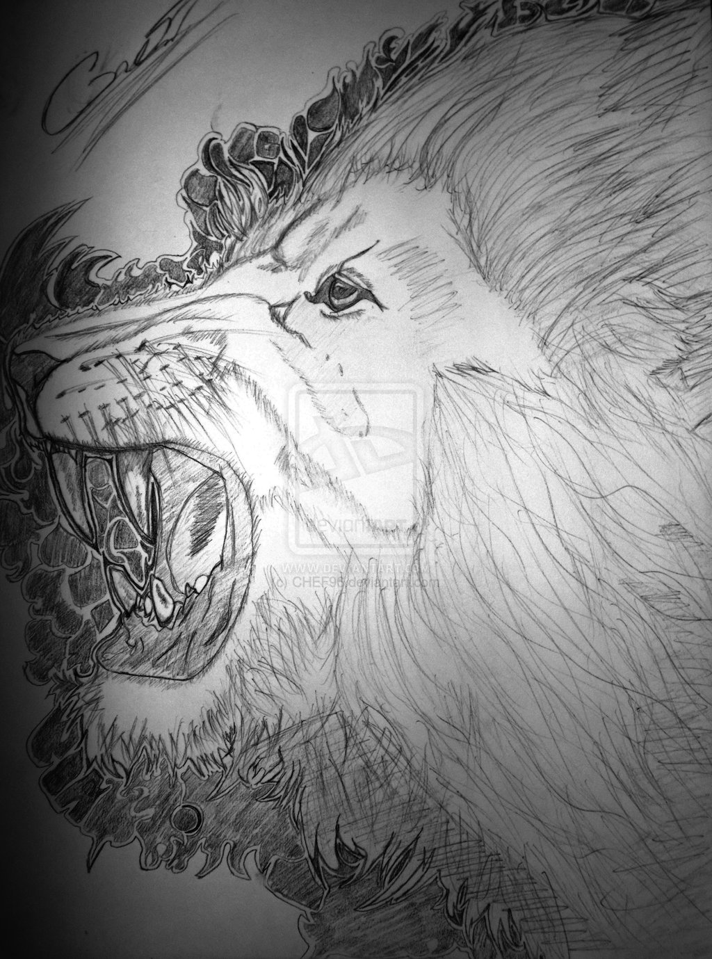 Ink Lion Head Tattoo Design View More Tattoos Similar Posts