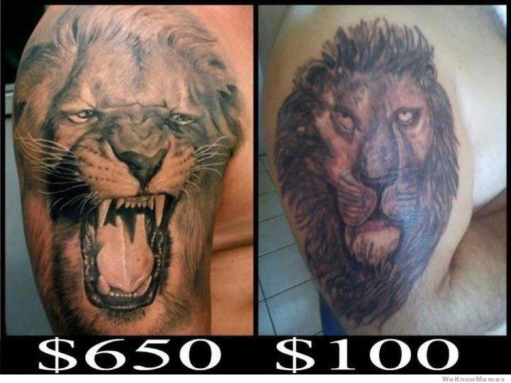 lion head tattoo designs for men. Black Bedroom Furniture Sets. Home Design Ideas