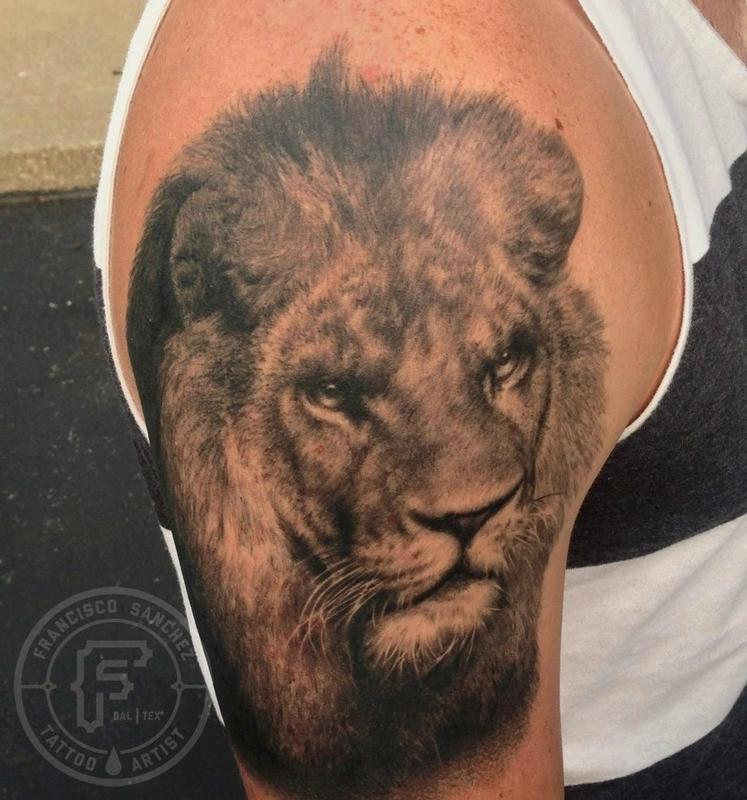 Lion Tattoo Images Amp Designs
