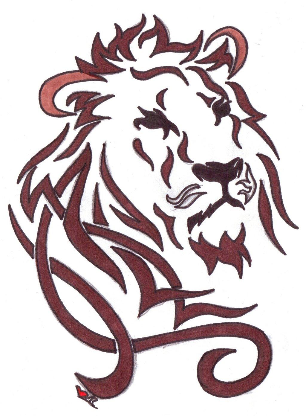 Тату знак зодиака лев: значение, описание, фото, история