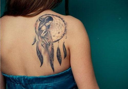 Wolf Tattoo Shoulder Girl 69449 Usbdata
