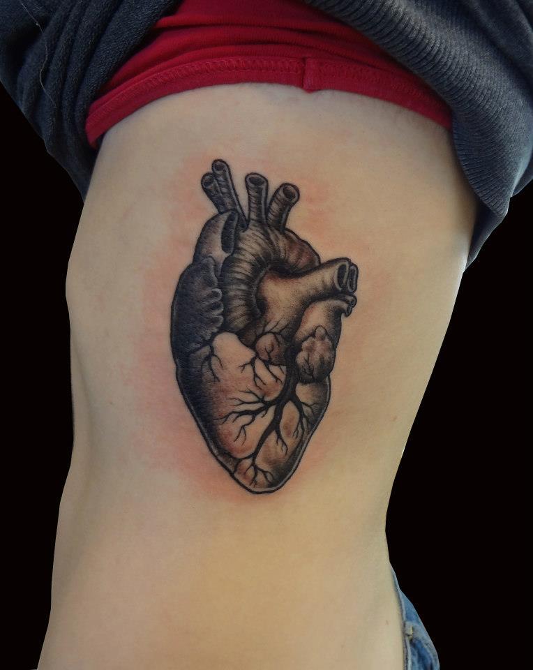 Heart Quilt Grey Ink Tattoo : quilt heart tattoo - Adamdwight.com