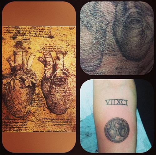 Leonardo Da Vinci Tattoo