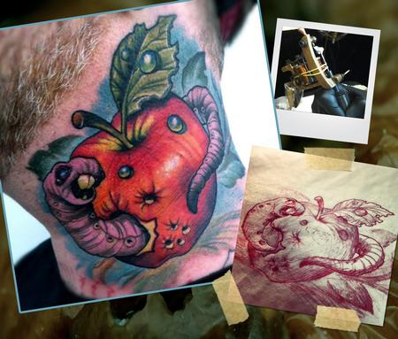 Apple Tattoo Images Amp Designs