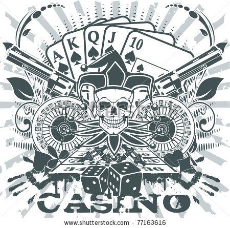Gambling Tattoo Images amp Designs