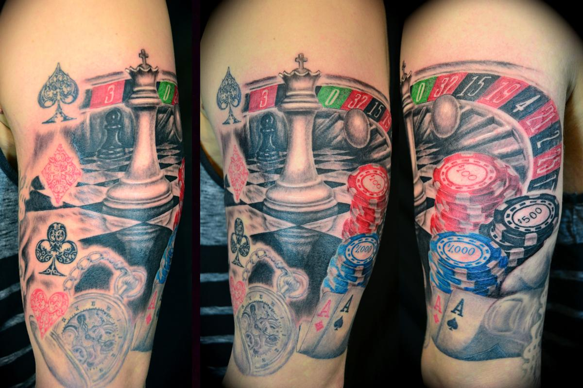 Gambler Tattoo