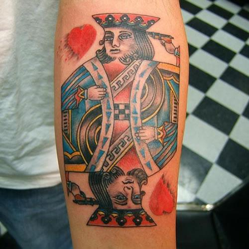 Gambling Tattoo Images & Designs