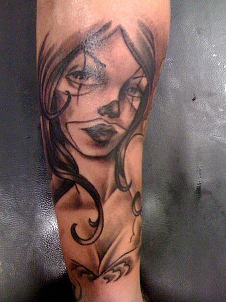 gangsta girls tattoos - photo #15