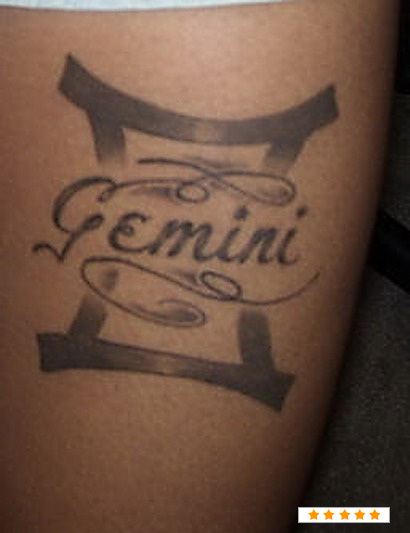 gemini tattoo images amp designs