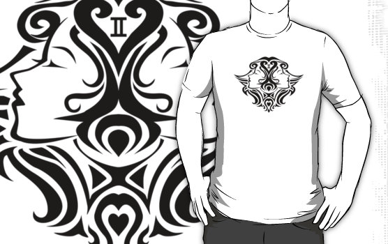 Tribal Gemini Tattoos For Guys: Gemini Tattoo Images & Designs