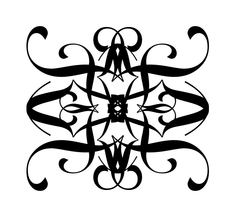 288fb95702eb0 Black Tribal Gemini Tattoo Design