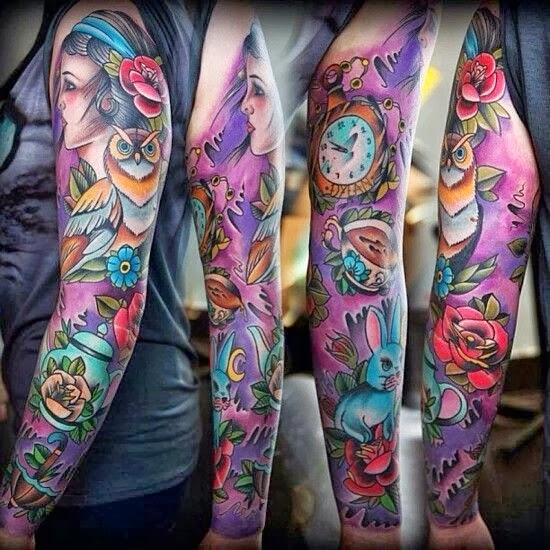 Tattoo Ideas Color: Gothic Tattoo Images & Designs