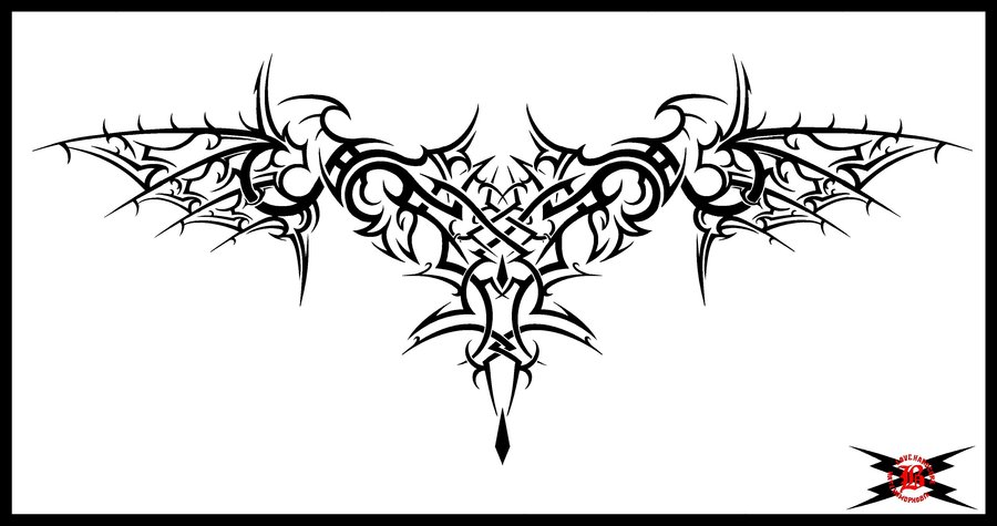 Gothic Tribal Tattoo Designs