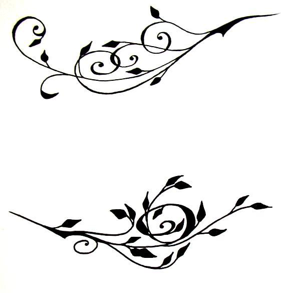 Rose Vines Drawings Rose Vine Background Drawing