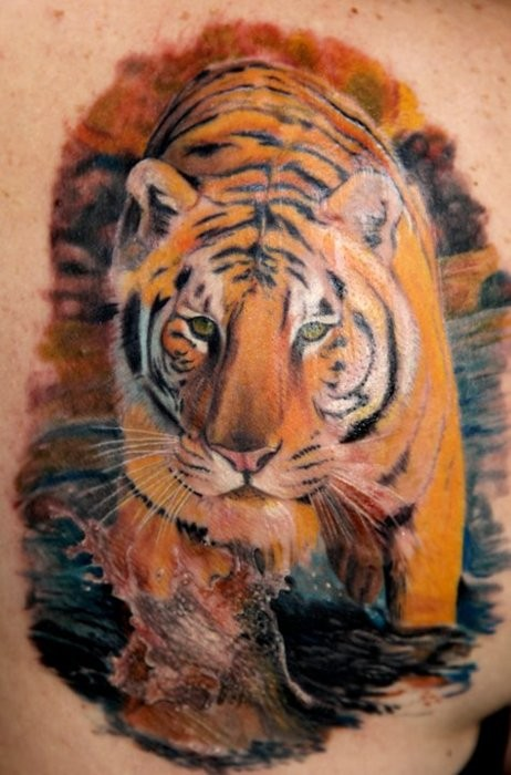 Tiger tattoo images designs for Best tiger tattoos