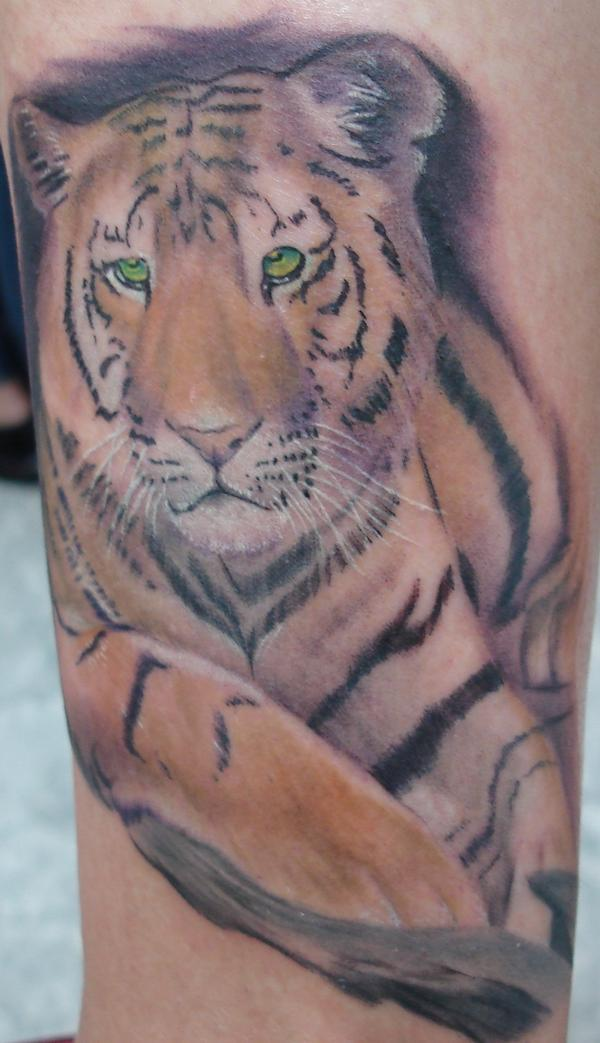Tiger tattoo images designs for Cool tiger tattoos