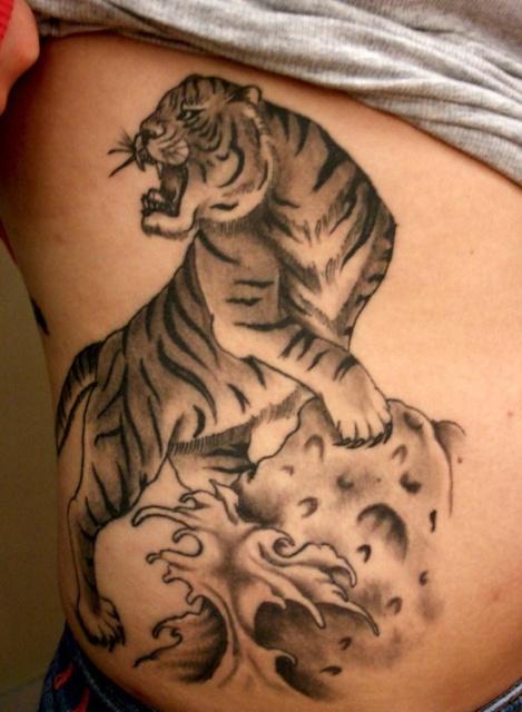 Tiger Stripes Tattoo Tiger Tattoo