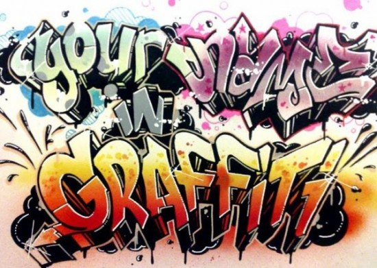 Gallery For gt The Word Cool In Graffiti