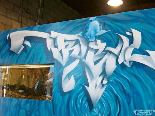 Best Tribal Gear Graffiti Tattoo Design