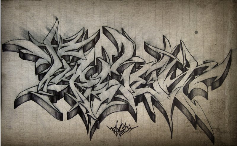 Graffiti tattoo images designs for Grey tattoo writing