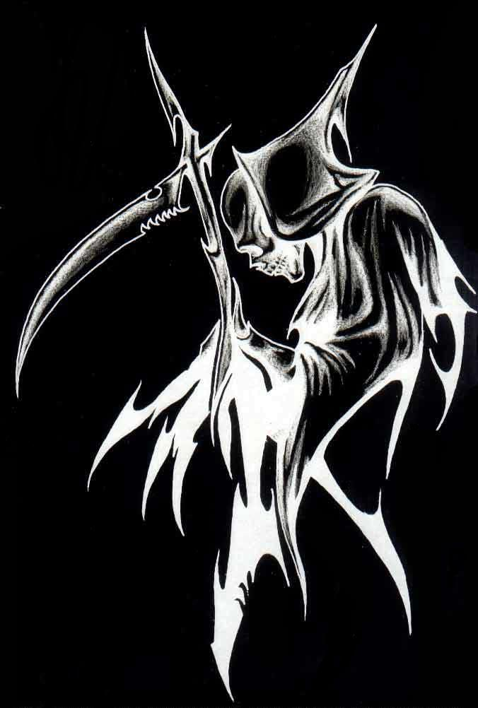 Grim Reaper Tattoo Images Designs