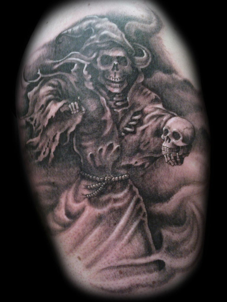 grim reaper tattoos designs