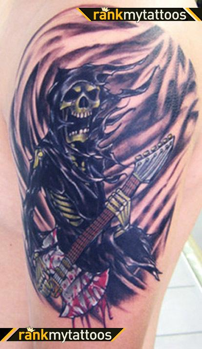 Grim Reaper Tattoo Art