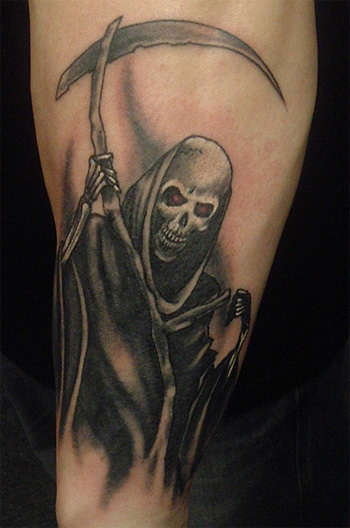 Grim Reaper Tattoo Images Amp Designs