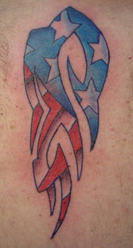 American Tattoo Flag