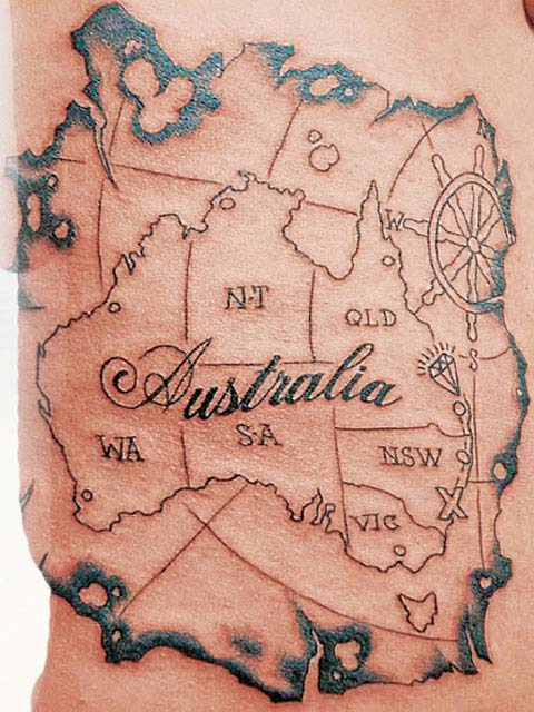 Date tattoos in Australia