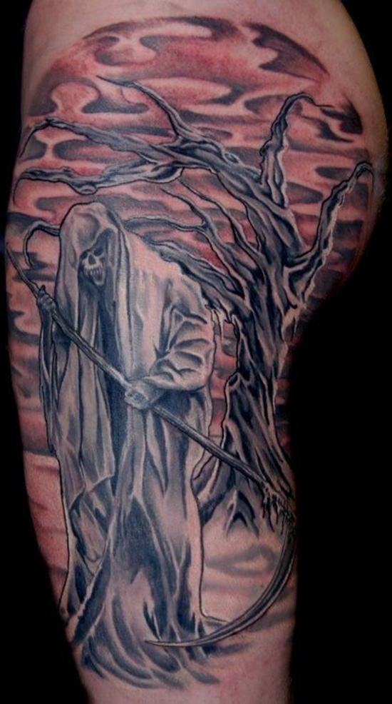 Graveyard Tattoo Images amp Designs