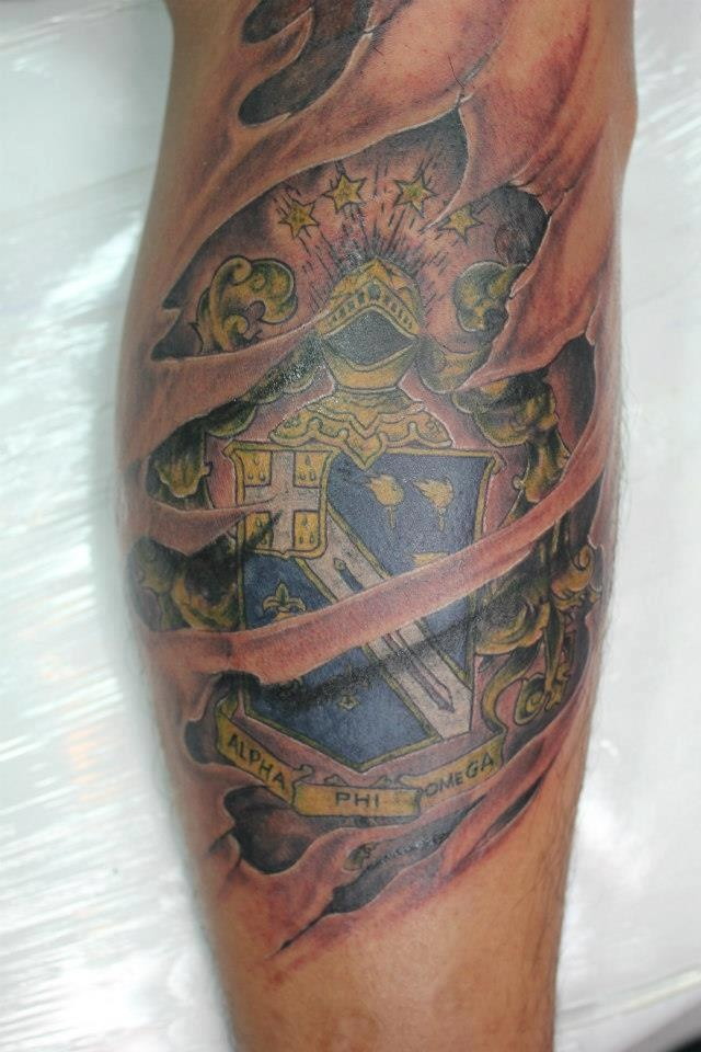 Greek tattoo images designs for Fraternity tattoo ideas