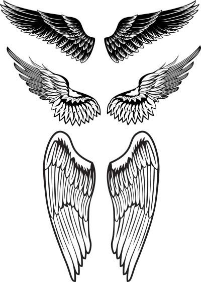 tattoos chest wings tribal Men For angel wings Tattoos Deigns
