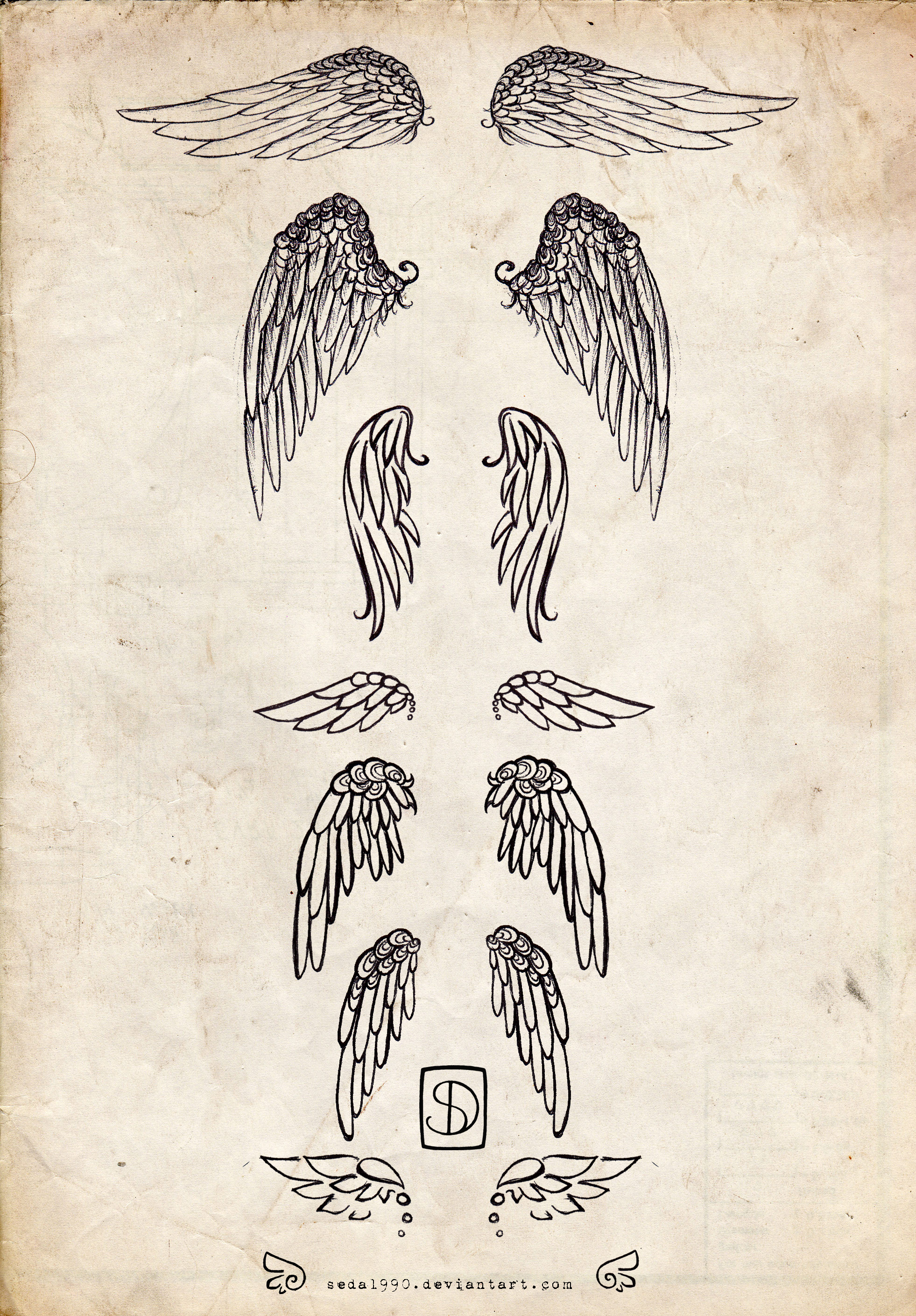 Wings Tattoos Designs amp Ideas Page 63