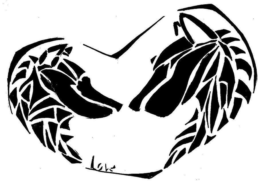 04c1ad457 Amazing Tribal Wolf Tattoos Designs