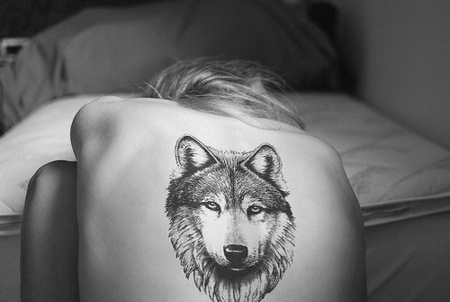 Wolf tattoo tumblr arm - photo#21