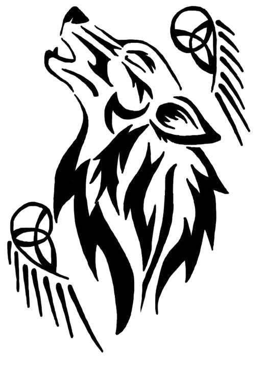 black wolf tribal - photo #3