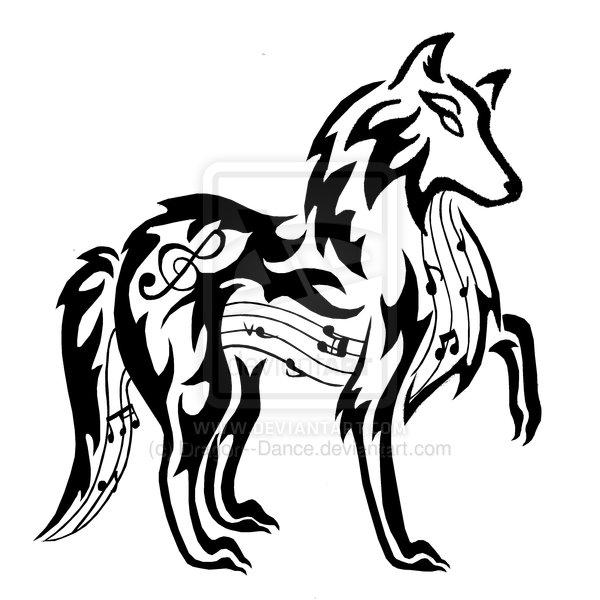 black wolf tribal - photo #20
