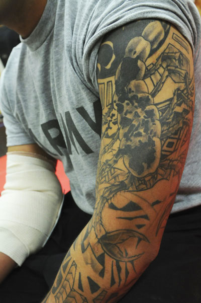 Military Sleeve Tattoodenenasvalencia
