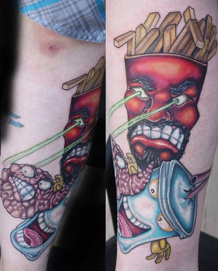 28 Nice Aqua Color Tattoos: Aqua Tattoo Images & Designs