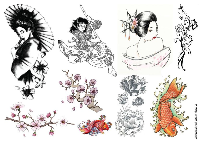 Asian Tattoos Designs 39
